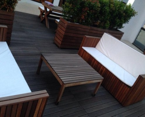 Balcony Solution for a Private Residence
