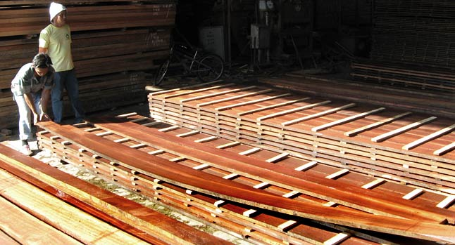 Imported Hardwood Lumber ~ Sawn timber ad kd softwood hardwood philippines